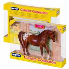 BREYER KŮŇ CHESTNUT APPALOOSA