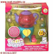 SQUINKIES TWISTER TEA TIME SURPRIZE PLAYSET