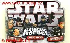 STAR WARS GALACTIC HEROES GRAND MOFF TARKIN & IMPERIAL OFFICER