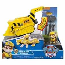 TLAPKOVÁ PATROLA PAW PATROL TRANSFORMERS FLIP AND FLY RUBBLE